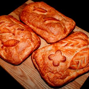 Пироги слоеные
