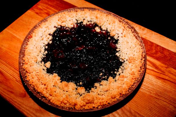 Пай-пирог 700гр с черникой СП