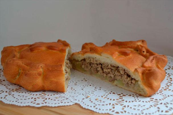 Пирог с мясом 1кг СП